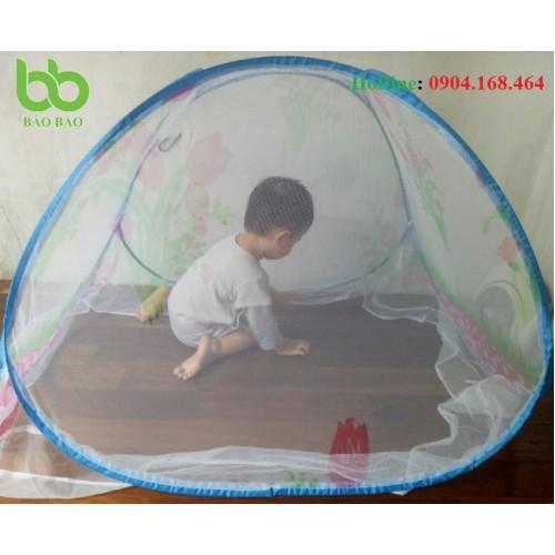 Mùng Tự Bung Cho Bé 70cm x 90Cm